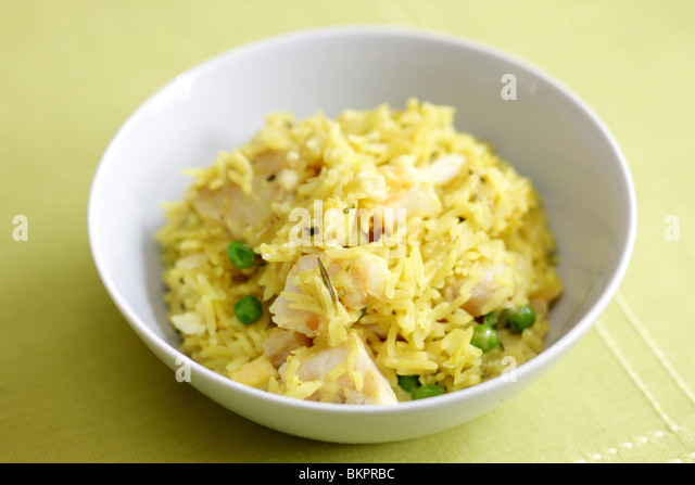 Fish kedgeree stock photos fish kedgeree stock images for Rice dishes with fish