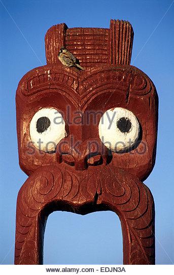 John Doyle Maori Sculpture Aspen Colorado