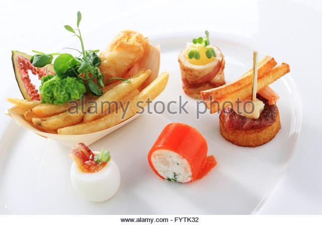 canape selection stock photos canape selection stock