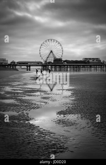 Blackpool's Big Wheel - Stock Image
