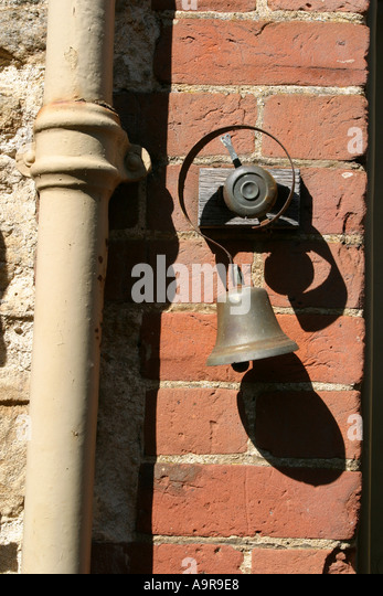 An Old Fashioned Door Bell   Stock Image