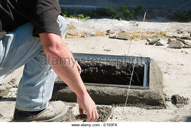 how to make a concrete septic tank lid