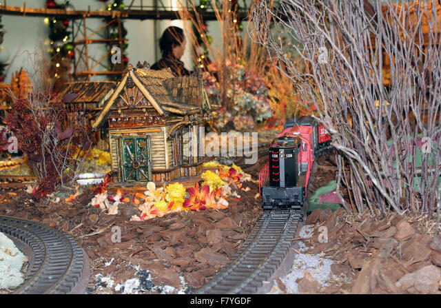 New york botanical garden train stock photos new york Botanical garden train show