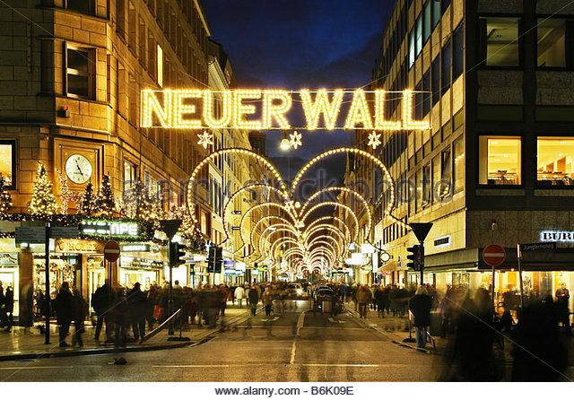 Neuer wall in hamburg stock photos neuer wall in hamburg for Ligne roset hamburg neuer wall