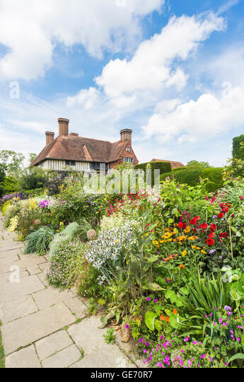 The Long Border At Great Dixter, The Country House, Home And Garden Of  Christopher