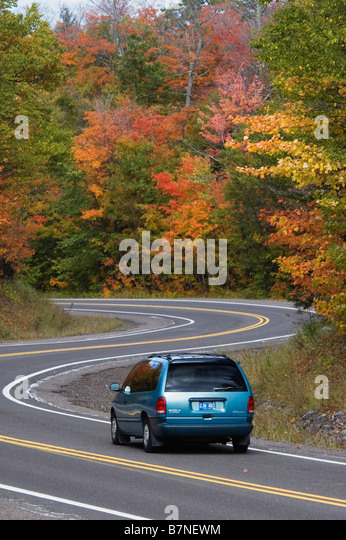 Car Rental Rice Lake Wi Car Road Stock Photos & Car Road Stock Images - Alamy