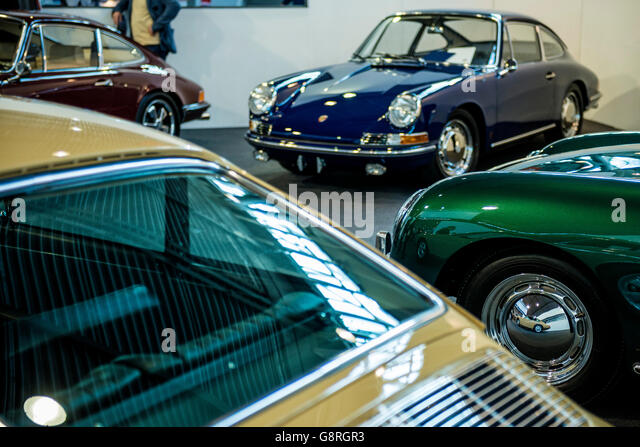 Porsche Coupe Coupe Stock Photos Porsche Coupe - Vintage porsche dealer