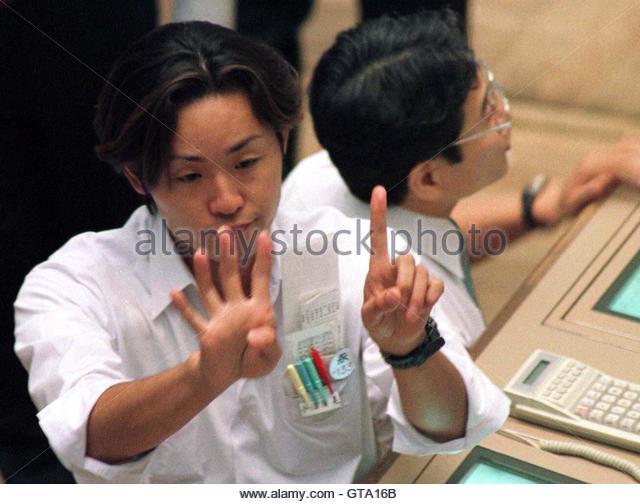 Trading Pit Hand Signals  Renaissance era trading hand