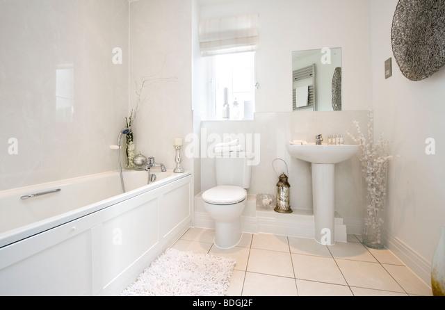 Beautiful Interior Toilet In Bright Stock Photos Beautiful Interior Toilet In Bright Stock