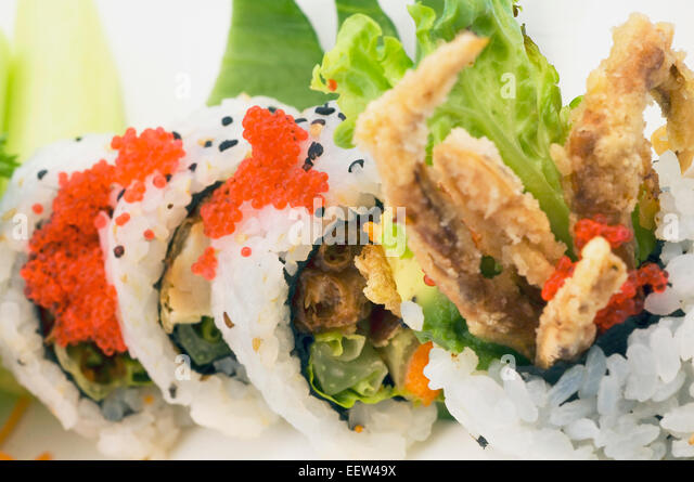 Japanese spider crab or giant spider crab stock photos - Sushi style rouen ...
