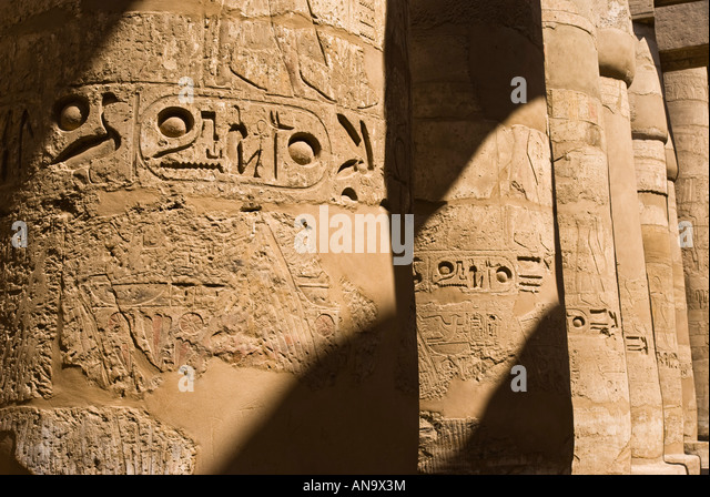 Egyptian scribe writing stock photos