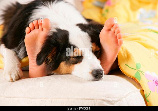 Feet Of Sleeping Women Stock Photos Amp Feet Of Sleeping