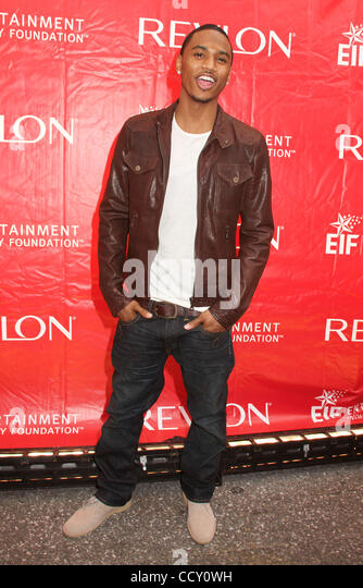 Trey songz where stock photos trey songz where stock images alamy singer trey songz attends the 13th annual eif revlon run walk for women held in gumiabroncs Gallery