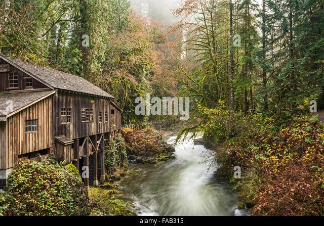 Cedar creek grist mill in stock photos cedar creek grist for The cedar mill