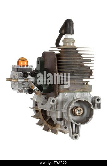 Gasoline Fueled Internal Combustion Engine E A on Cut Away Image Of Cylinder Spark Plug