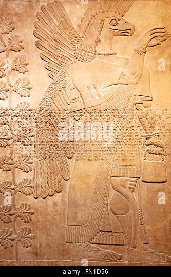 Sumerian civilization stock photos
