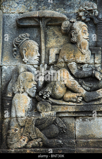 Indonesia carving stock photos