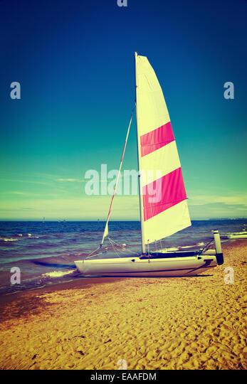 Vintage Sailboat Stock Photos & Vintage Sailboat Stock Images - Alamy
