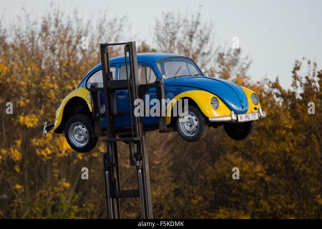 Peine Germany  city photo : Peine, Germany. 05th Nov, 2015. An old Volkswagen Beetle with the ...