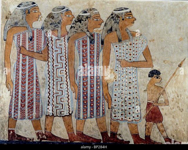 Beni hasan stock photos beni hasan stock images alamy for Beni hasan mural