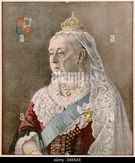 Briefe Queen Victoria : Historical stock photos images alamy