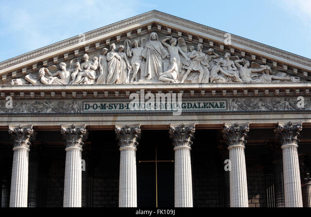 Madeleine church stock photos madeleine church stock images alamy - Monument la madeleine ...