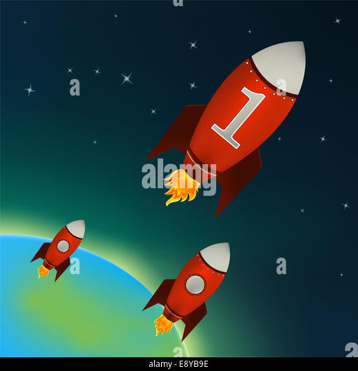 Space rockets stock photos space rockets stock images for Outer space leicester