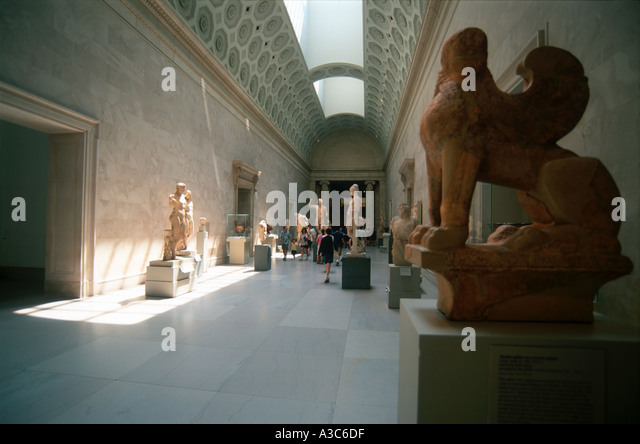 Greek Metropolitan Museum Of Art New York Stock Photos ...
