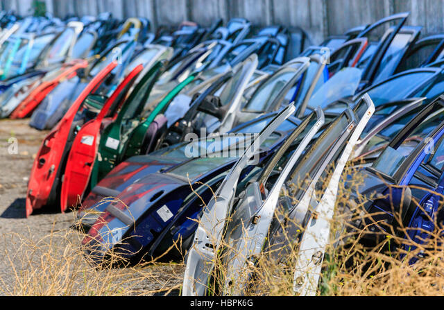 Many car doors for aftermarket. - Stock Image & Car Doors Stock Photos u0026 Car Doors Stock Images - Alamy pezcame.com