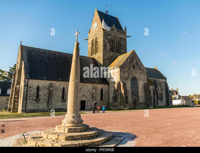 Sainte mere eglise stock photos sainte mere eglise stock - Chambres d hotes sainte mere l eglise ...