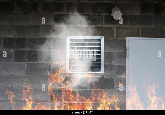 Ventilators Industrial Fire : Fire ventilation stock photos