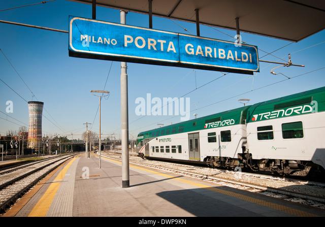 Italy milan porta garibaldi railway stock photos italy - Milano porta garibaldi station ...