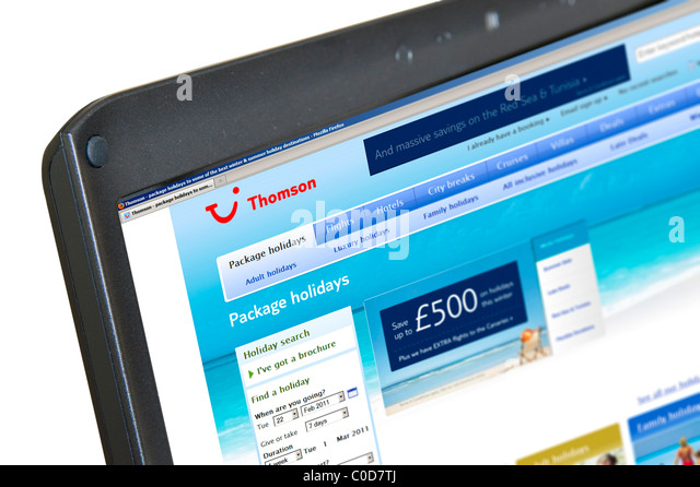 thomson travel agents stock photos thomson travel agents stock images alamy