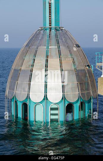 Zingst Germany Pier Diving Bell Underwater