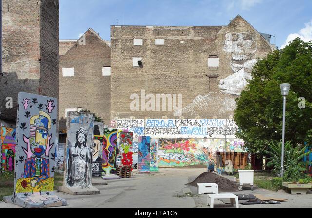 Berlin Backyards Wall Mural - Wallpaper | Architecture wall murals ...