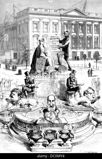 Political Cartoon 1800s Stock Photos Amp Political Cartoon