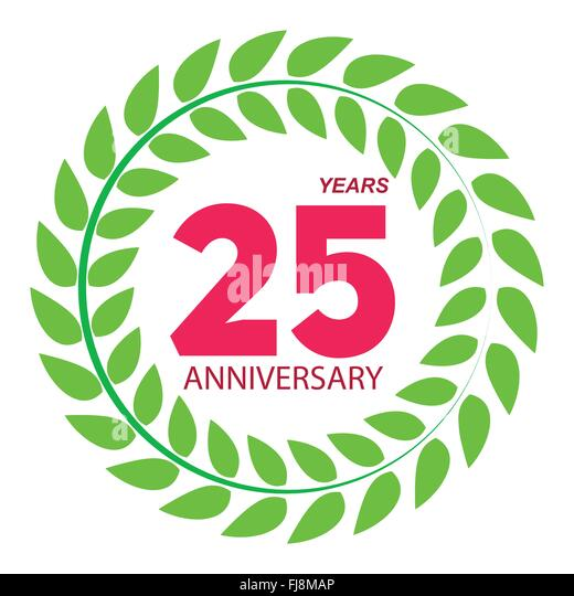 Anniversary logo stock photos