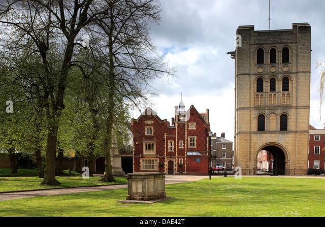 Bury St Edmunds Abbey Stock Photos & Bury St Edmunds Abbey ...