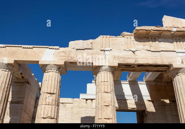 Propylaea Athens Stock Photos & Propylaea Athens Stock ...