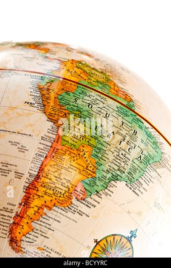 Argentina Map Stock Photos Argentina Map Stock Images Alamy - Argentina globe map