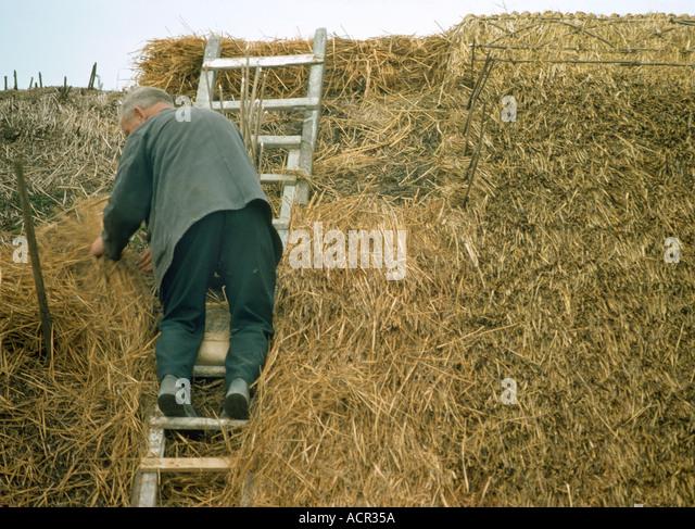 Irish Traditional Thatch Roofing Stock Photos Amp Irish