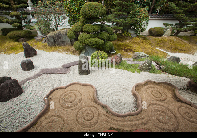 Japanese Garden Designer Stock Photos & Japanese Garden Designer