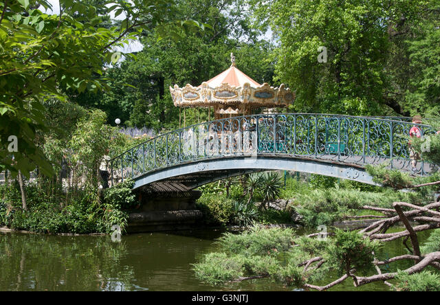 Public park bridges stock photos public park bridges for Jardin public bordeaux