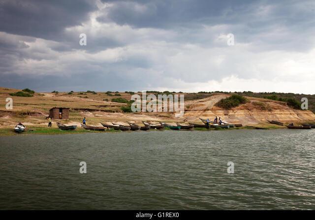 Lake edward uganda stock photos lake edward uganda stock for Lake elizabeth fishing