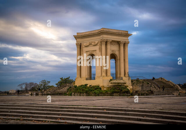 18th century french architecture stock photos 18th for Montpellier terre archi