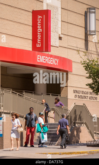 George Washington University Hospital Emergency Room Address