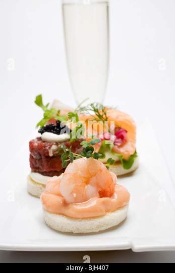 Canapes and champagne stock photos canapes and champagne for Canape wines