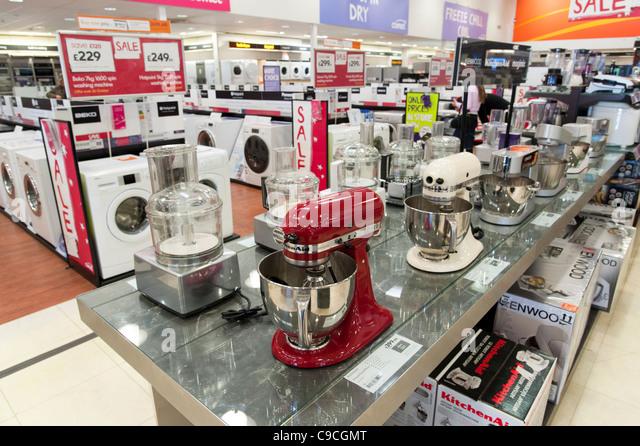 Kitchen Shop kitchen shop uk stock photos & kitchen shop uk stock images - alamy