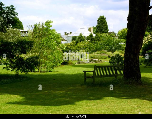 University Botanic Gardens Cambridge Stock Photos