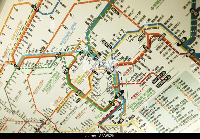 tokyo train station map pdf